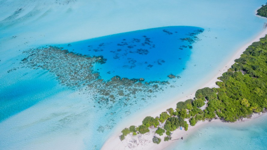 The Maldives are set to become one of the first carbon-neutral countries