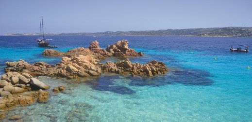 Sailing excursions in Sardinia