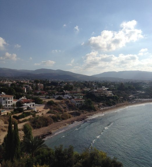 View of Coral Bay beach, Cyprus