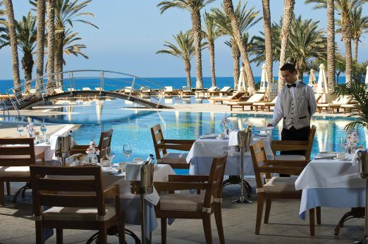 Constantinou Bros Asimina Suites, Estia Restaurant at breakfast
