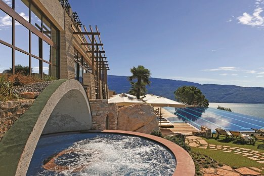 Lefay Resort & Spa, whirlpool view