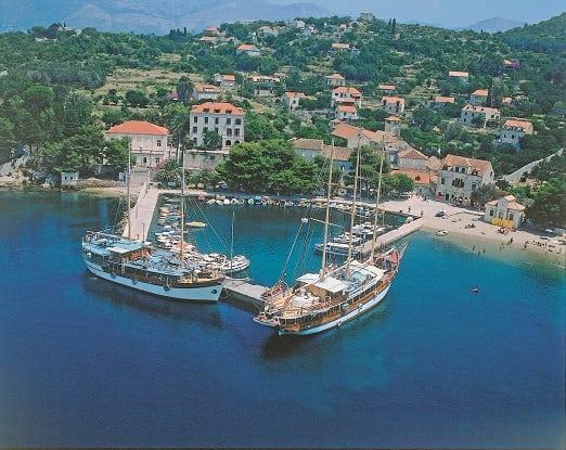 Croatian island cruise