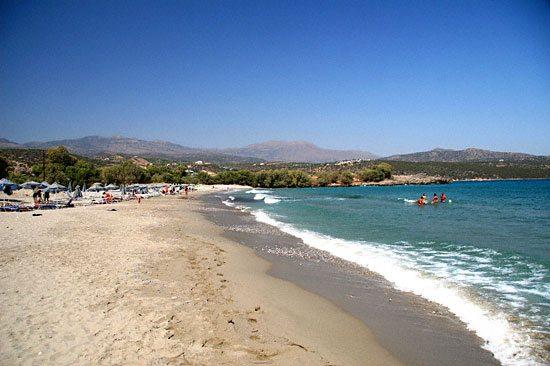 Beach in Agios Nikolaos