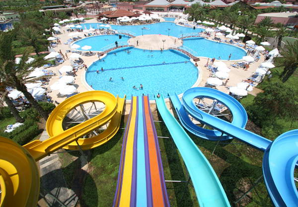 Slides at Dedeman Aquapark Bodrum