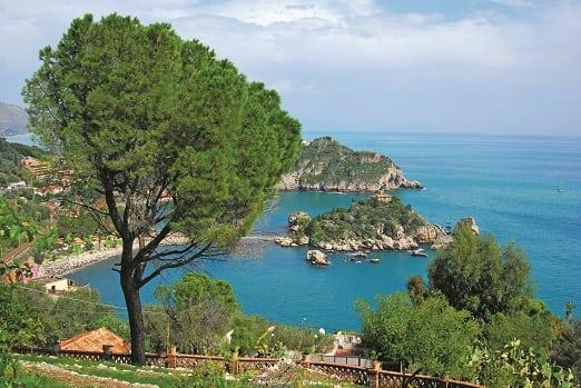 Sicily coastal view