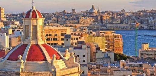 Valletta skyling, Malta