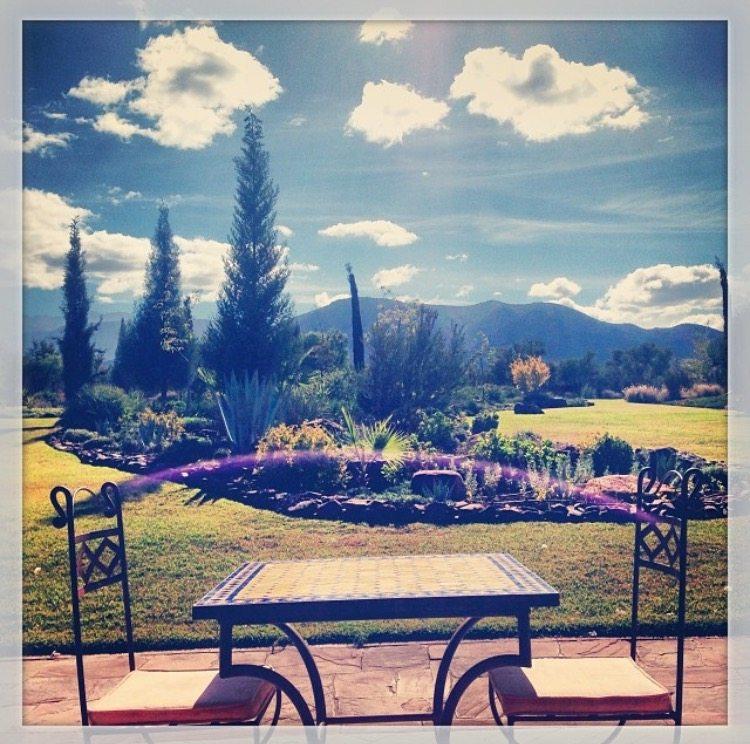 Kasbah Angour, gardens