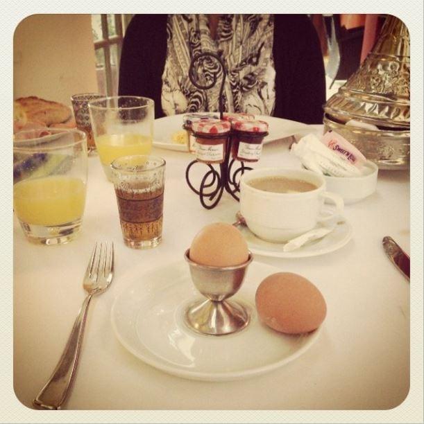 Les Jardins De La Medina breakfast