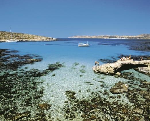 Malta shoreline