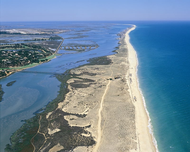 quinta do lago Aerial beach