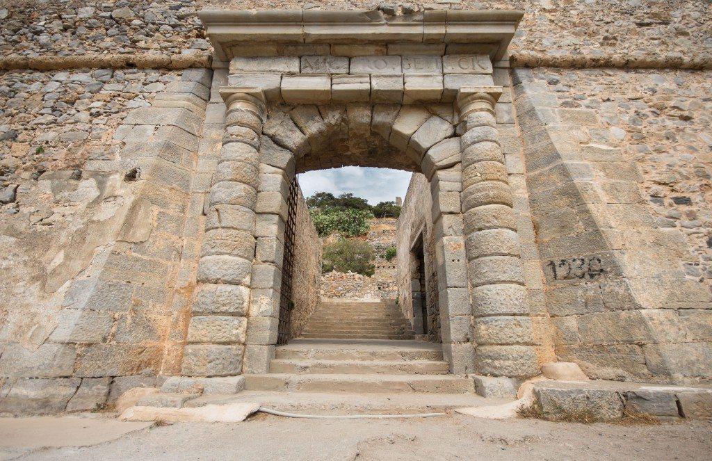 Spinalonga, Dantes Gate