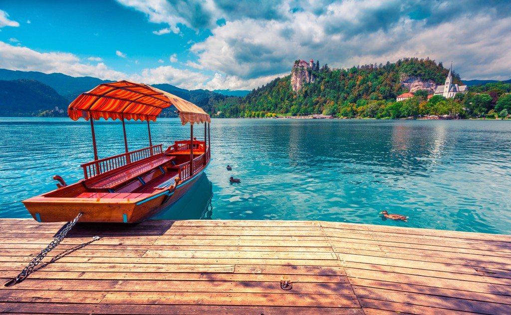 Romantic Lake Bled boat ride