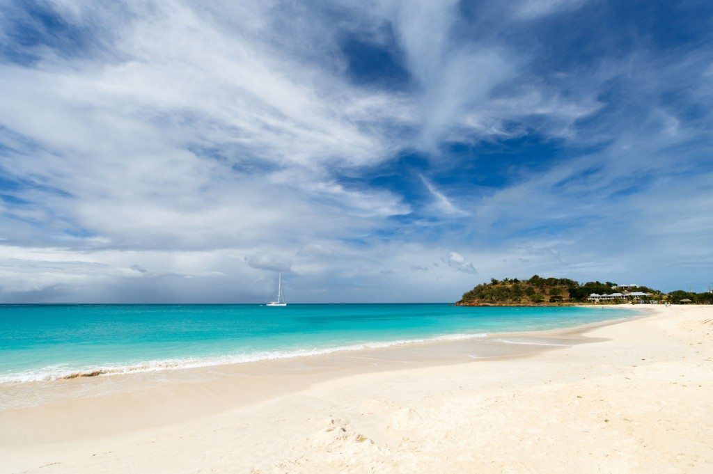 3rd thing to do in Antigua: Visit the beach
