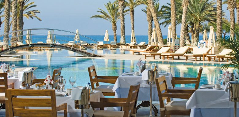 All-inclusive dining at Asimina Suites Hotel