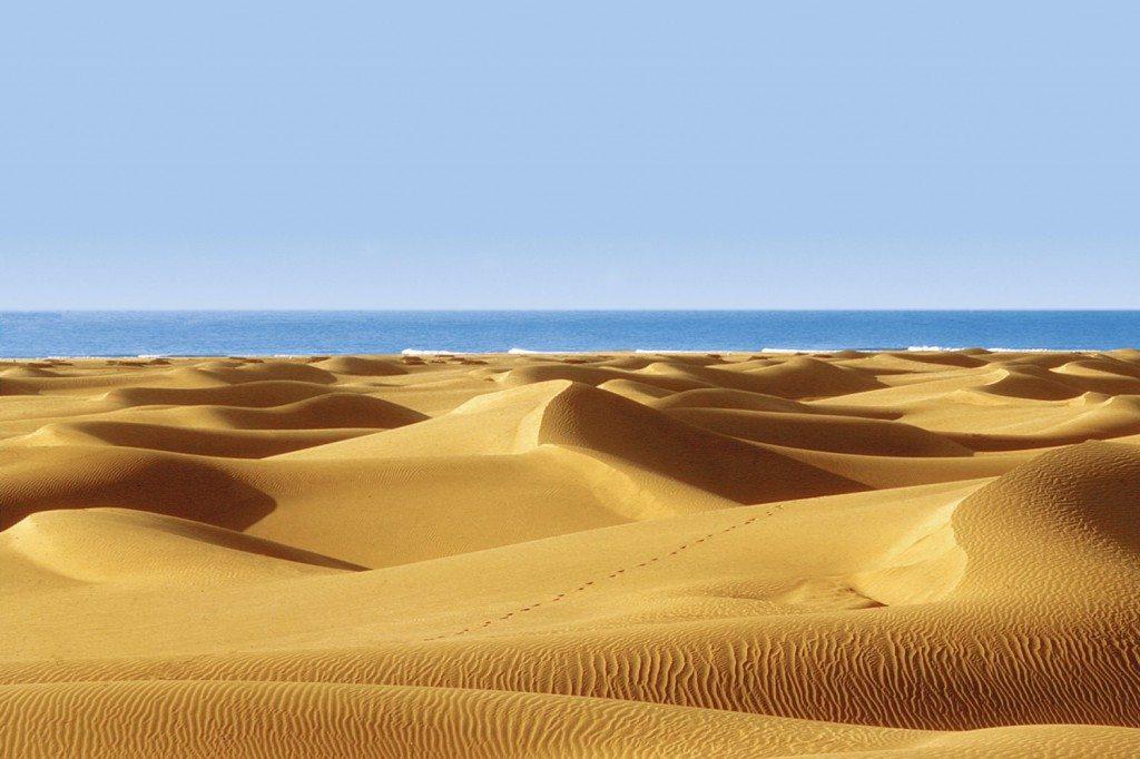 Sand dunes Maspalomas, Gran Canaria