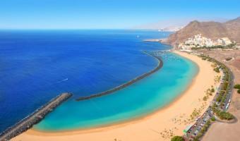 Las Teresitas beach, Santa Cruz, Tenerife