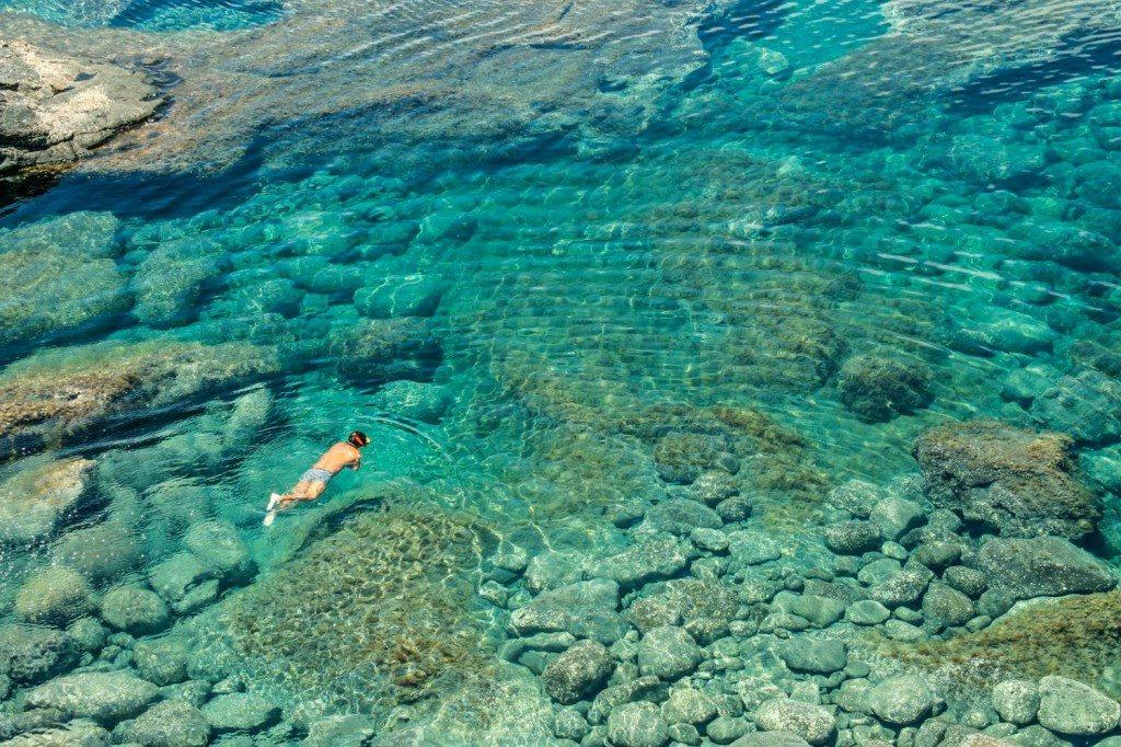 Snorkelling, Lanzarote