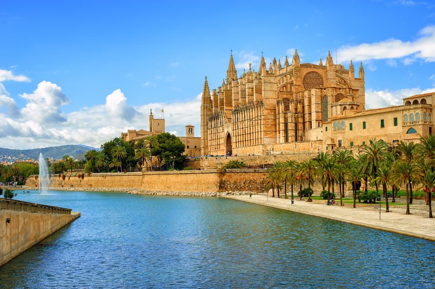 Palma de Mallorca, Cathedral view