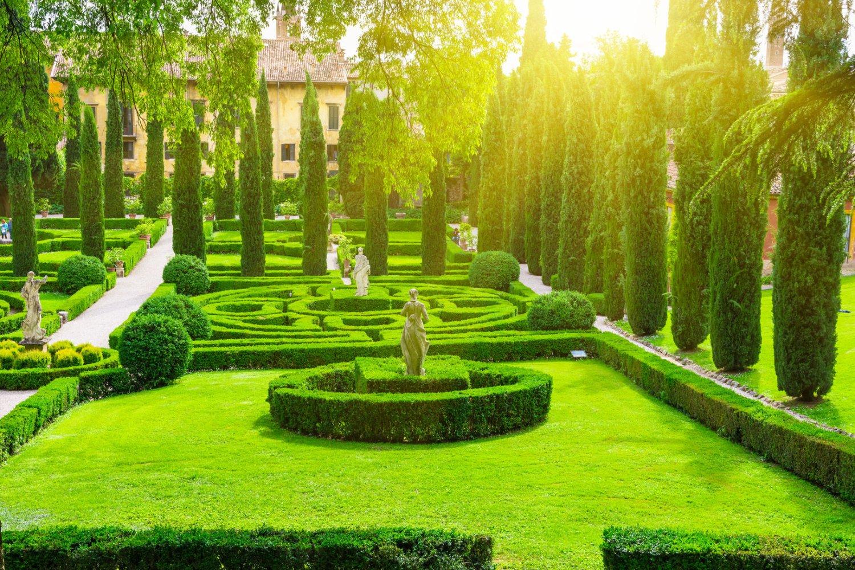 things to do in Verona, Gardens