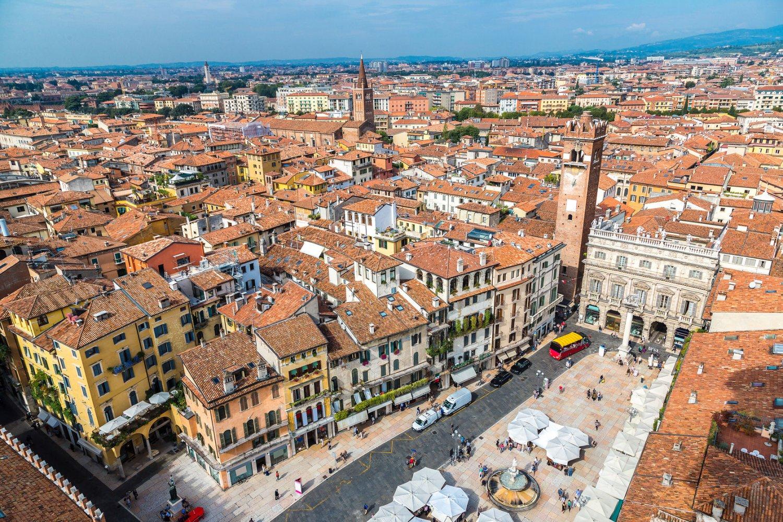 Piazza del Erbe. Verona