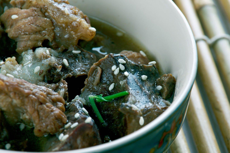 Caribbean food, Pepperpot stew