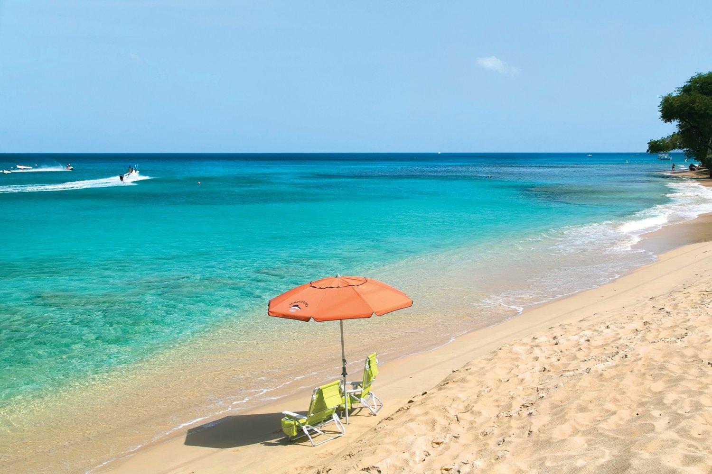 Beach activities Barbados
