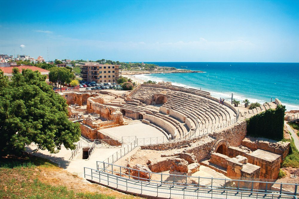 Tarragona, Tarracco, Historical sites in Spain