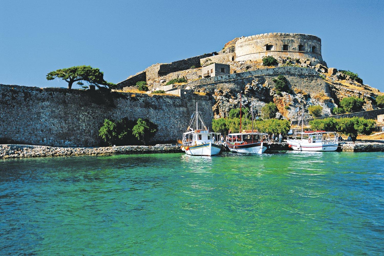 Which Greek Island, Crete, Spinalonga Island