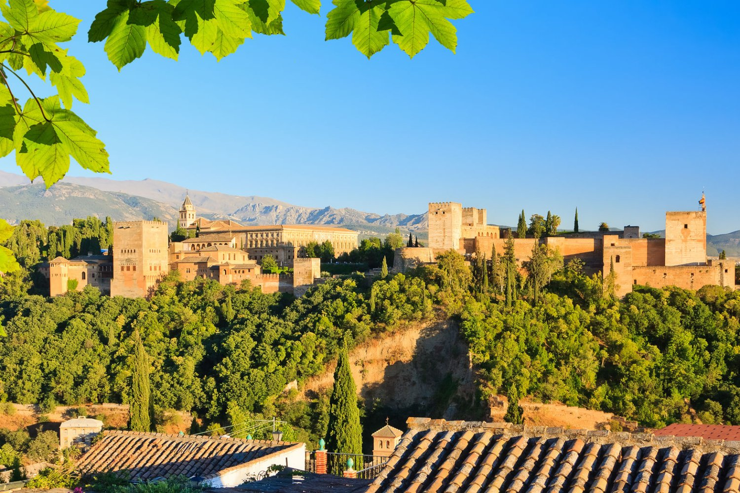 Alhambra, historical sites in Spain, Granada