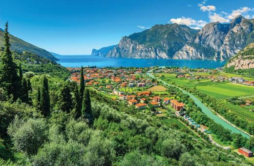 Summer holiday in Lake Garda