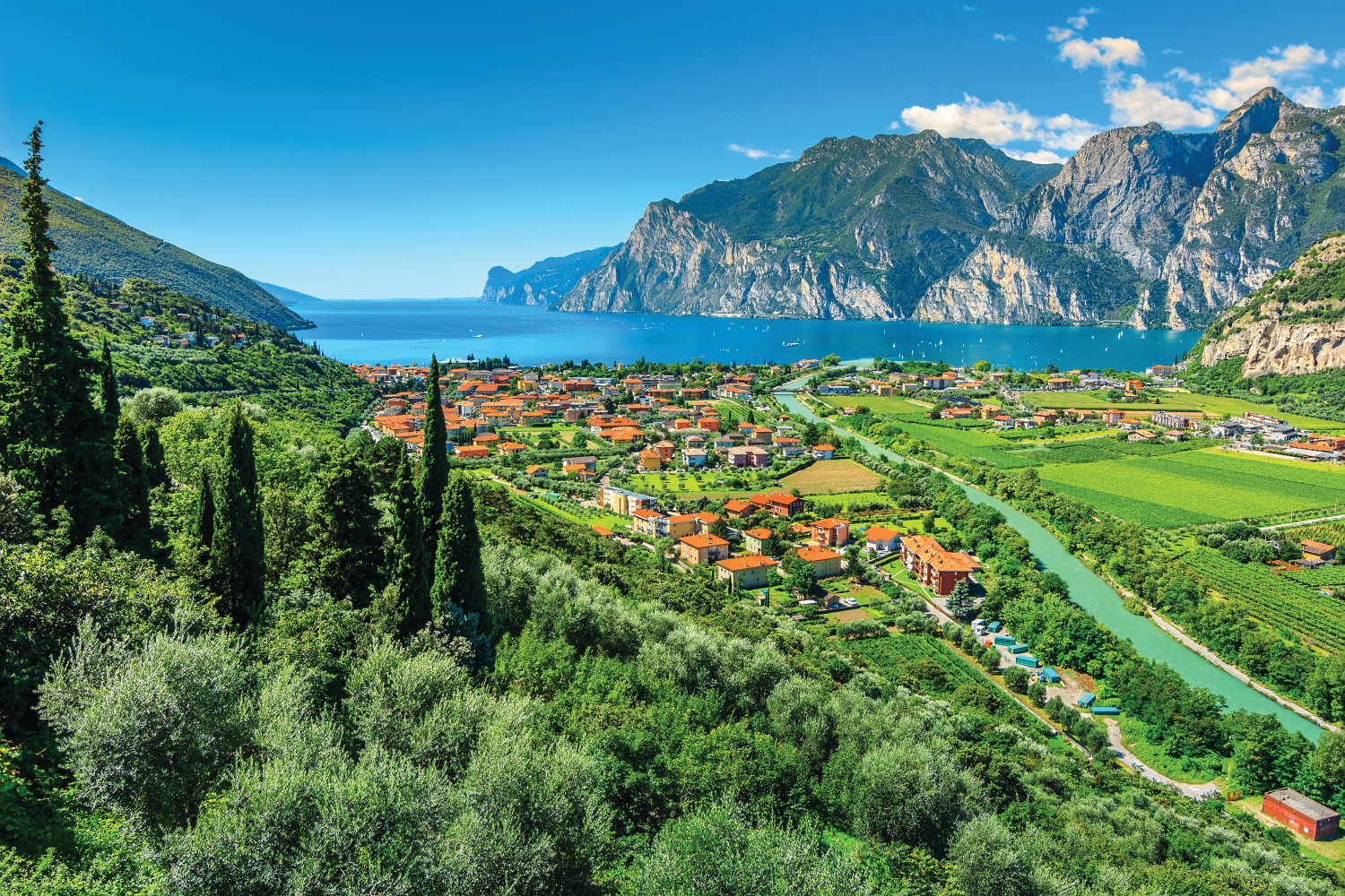 Summer holiday in Lake Garda