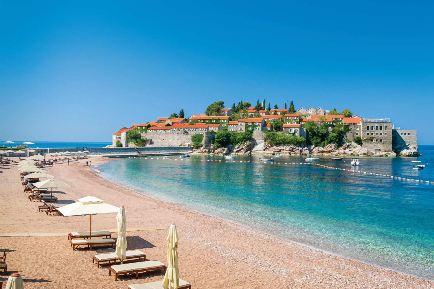 Summer holiday in Montenegro