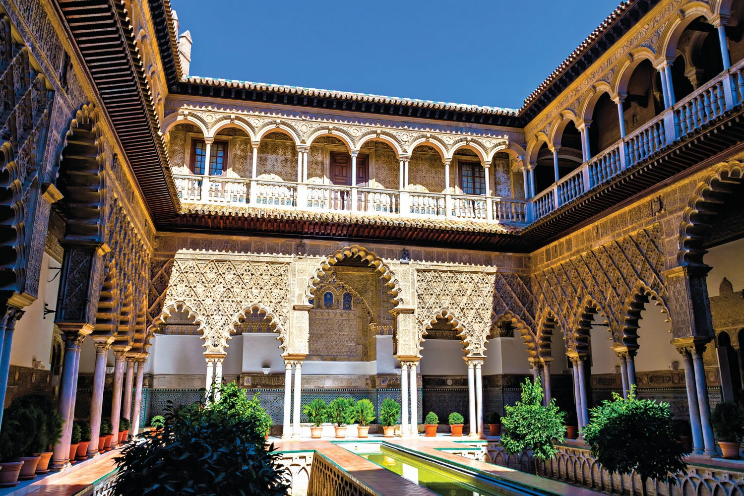 Real Alcazar, Seville, Historical sites in Spain