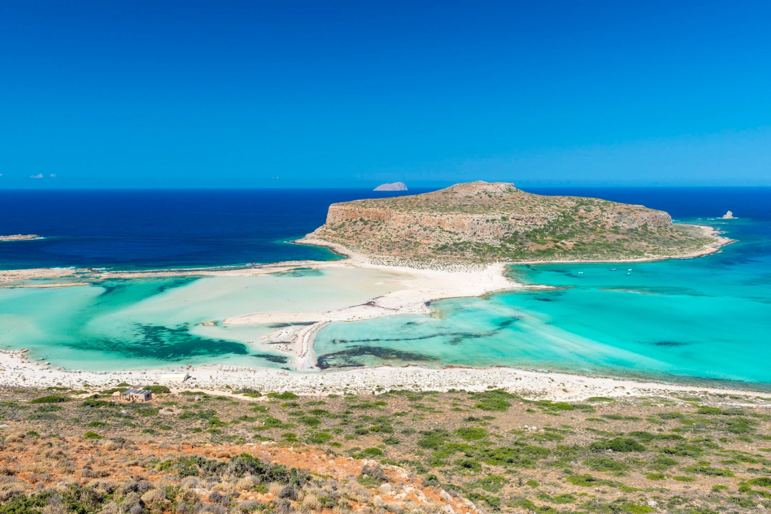 Balos Lagoon, places to see in Crete