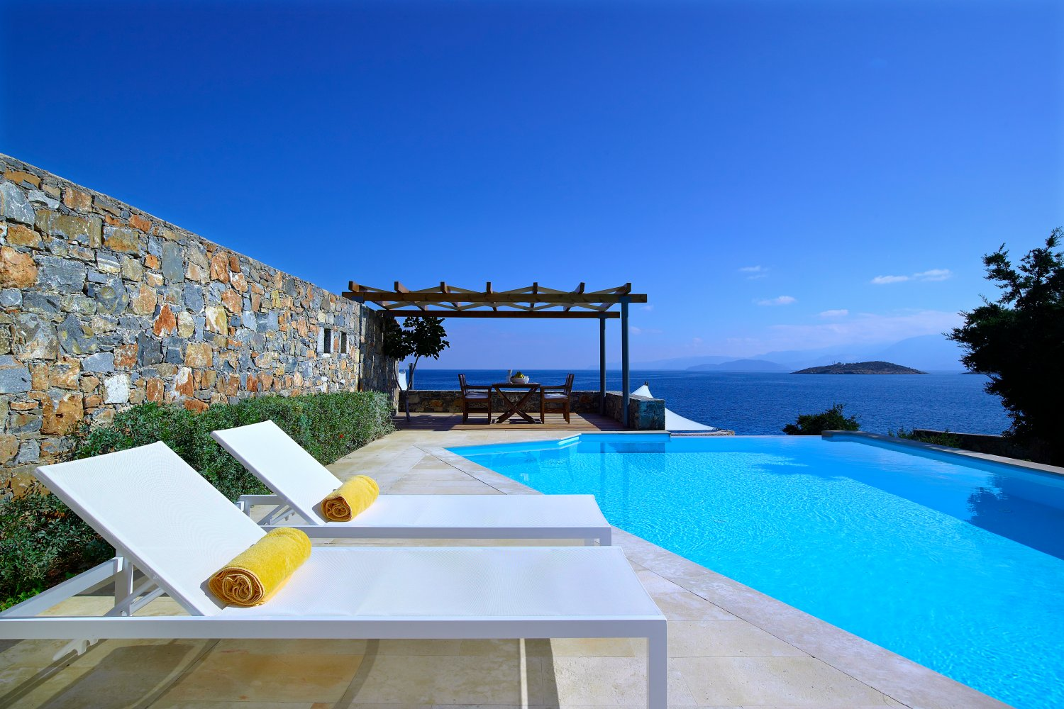 Thalassa Villa, St Nicolas Bay, where to stay in Crete