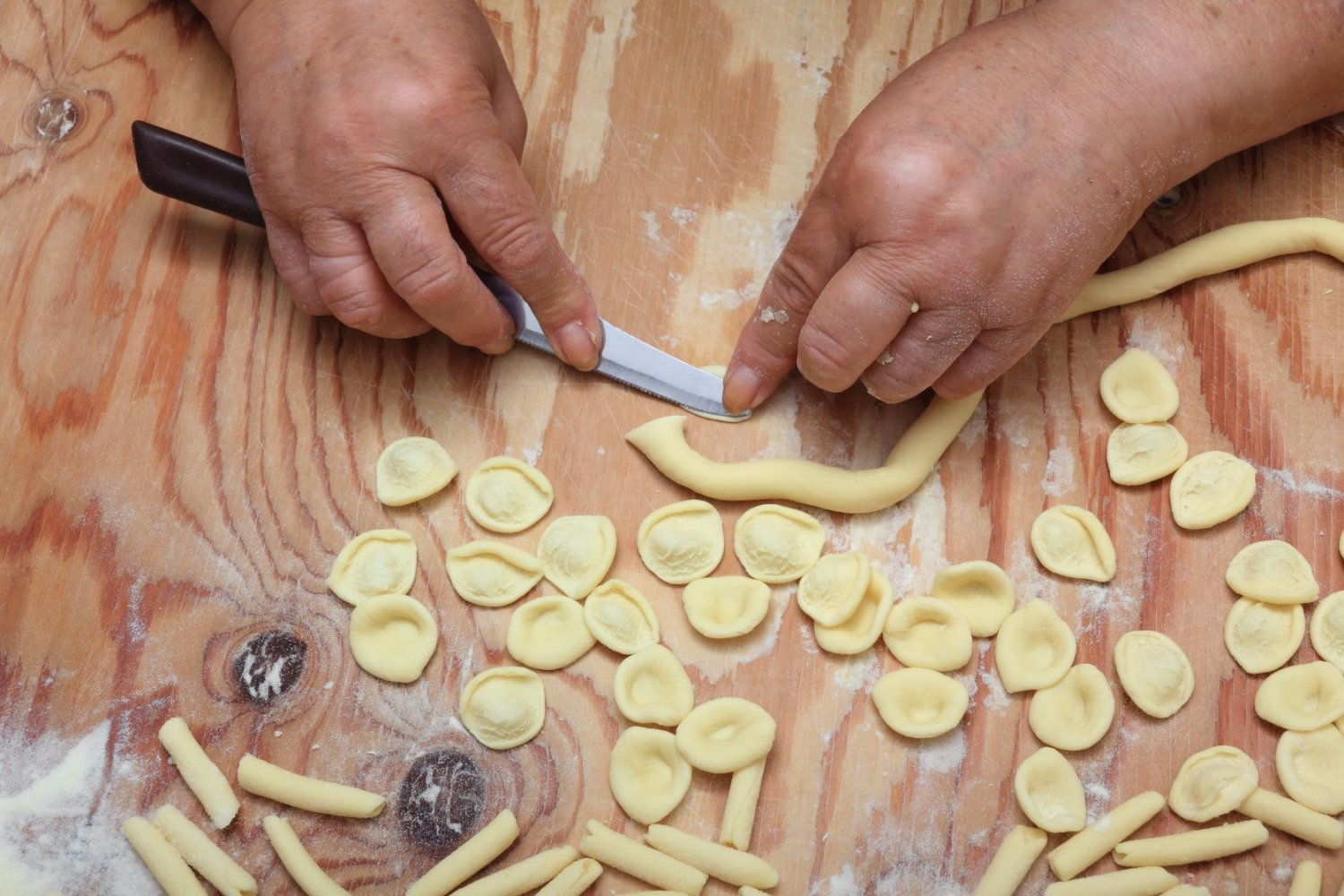 Pasta making, Orecchiette