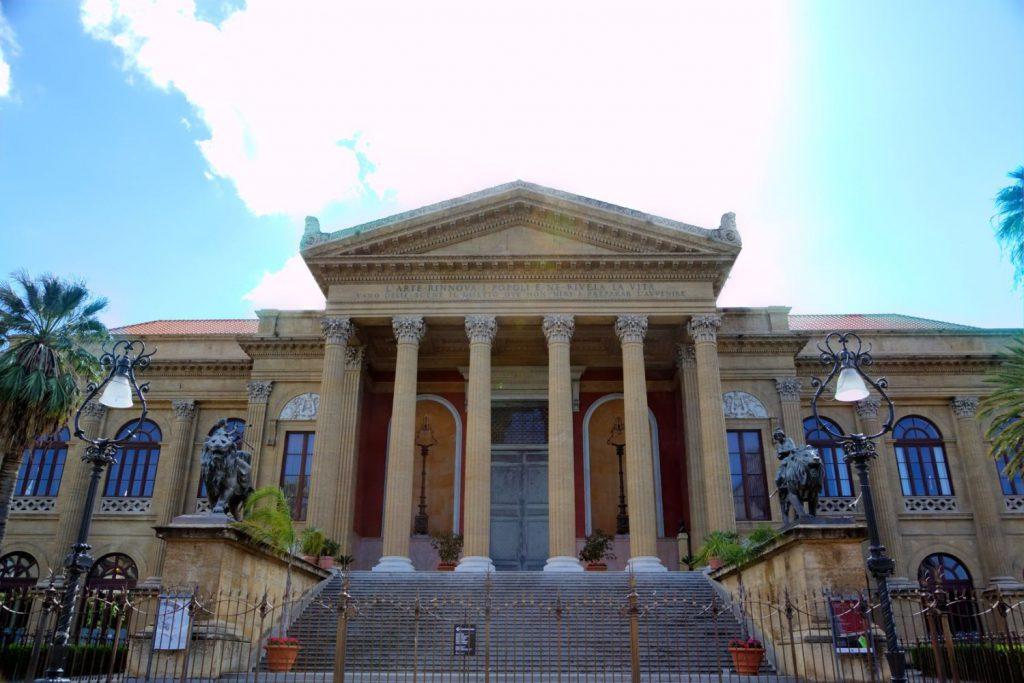 Teatro massimo, opera theatre in Palermo