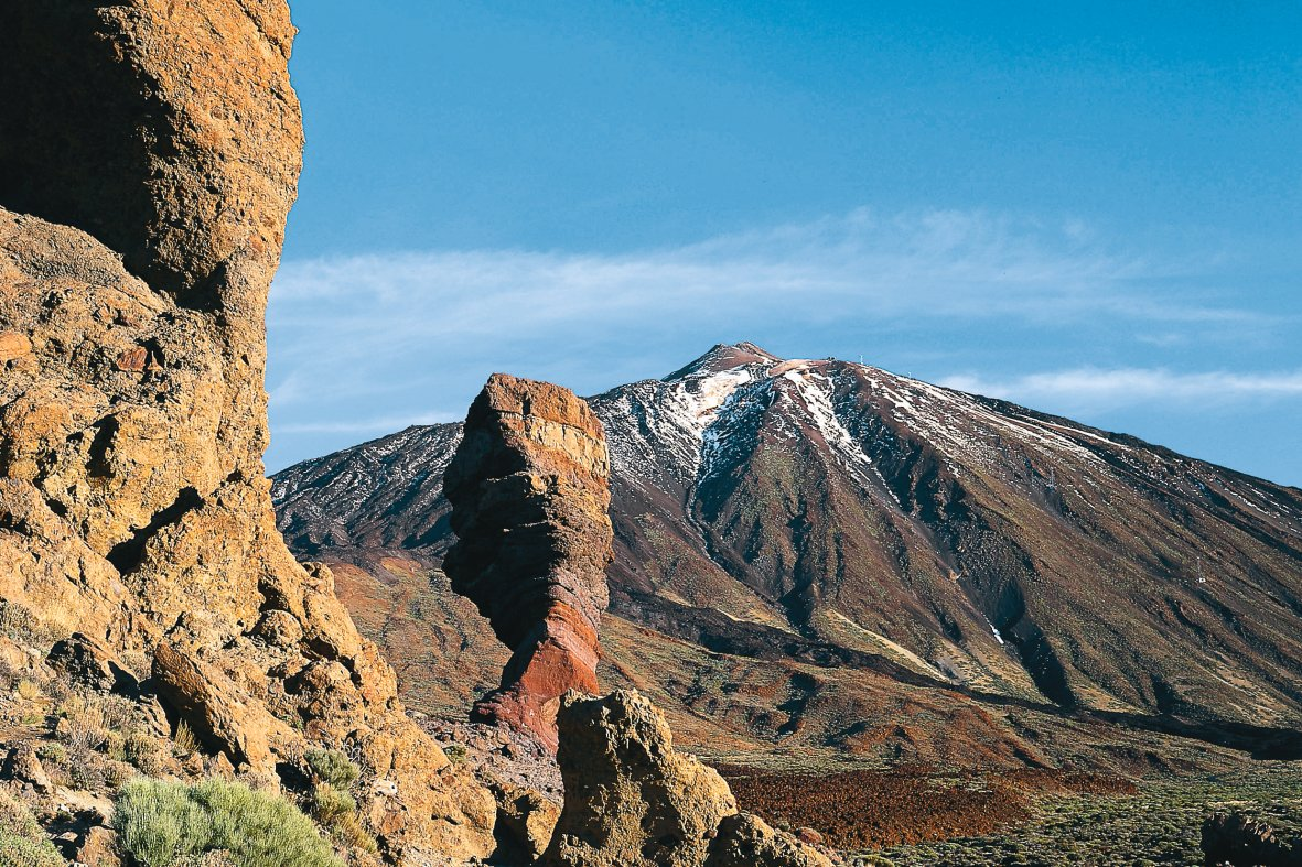 hiking mount teide