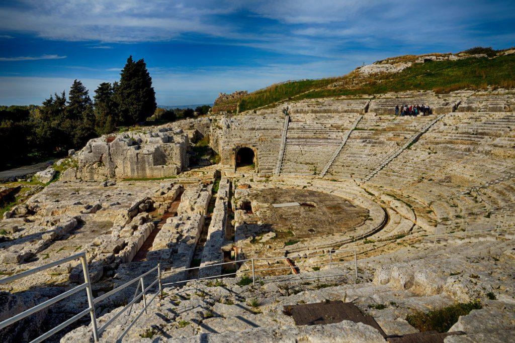 Neapolis Archeological park Syracuse