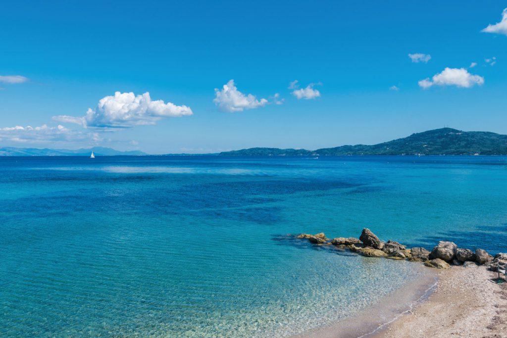 Agios ioannis peristeron, corfu beach