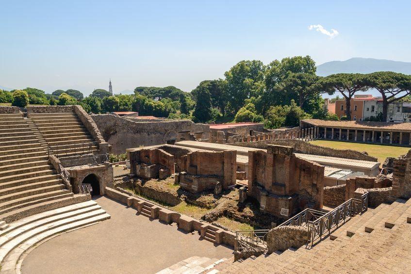 Grand theatre Pompeii
