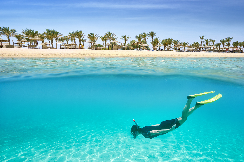 Ain Sokhna beach in Egypt