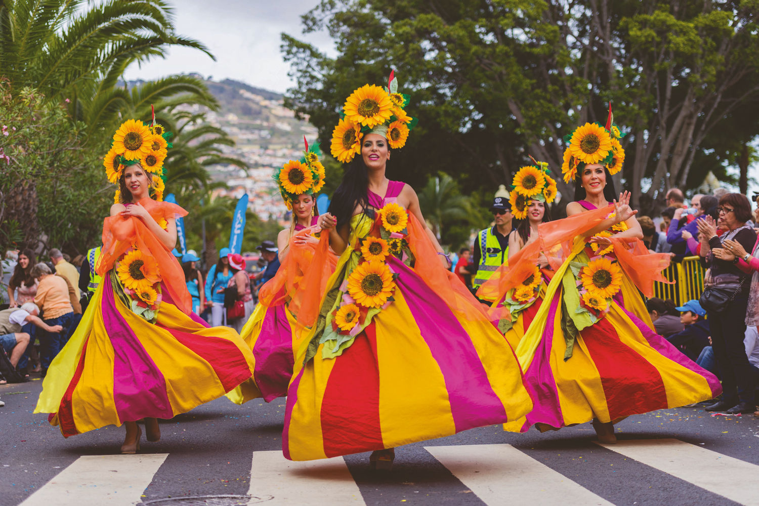 Madeira flower festival, traditional dress