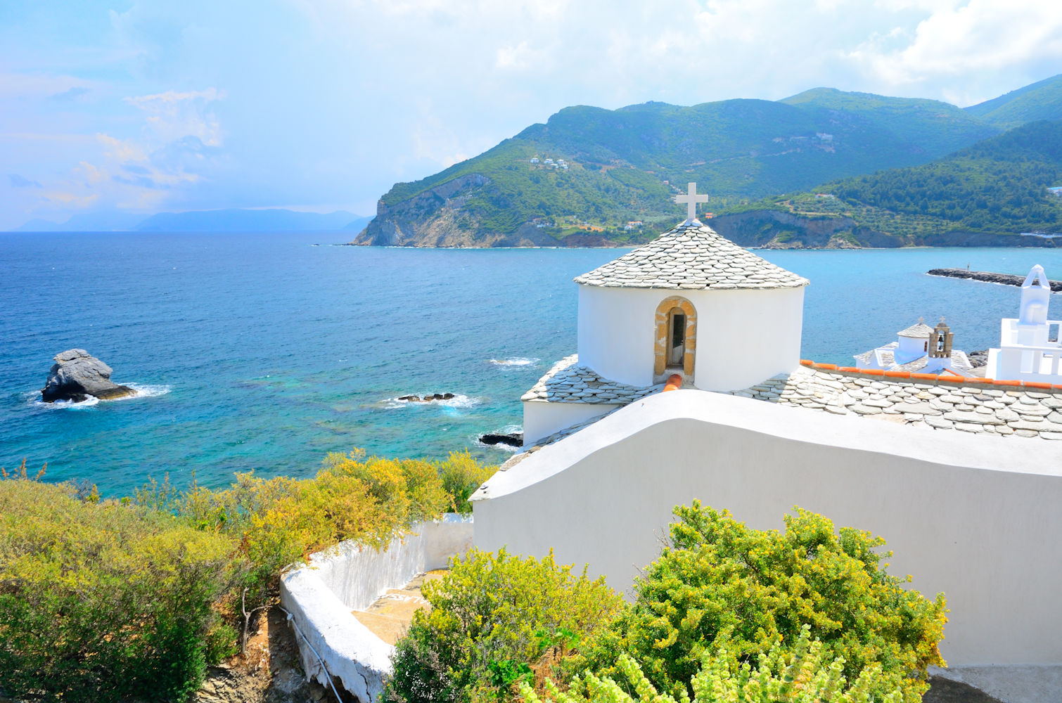 Sporades islands, Skopelos church