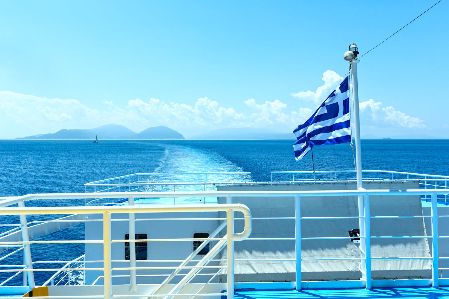 ferry, how to island hop in greece