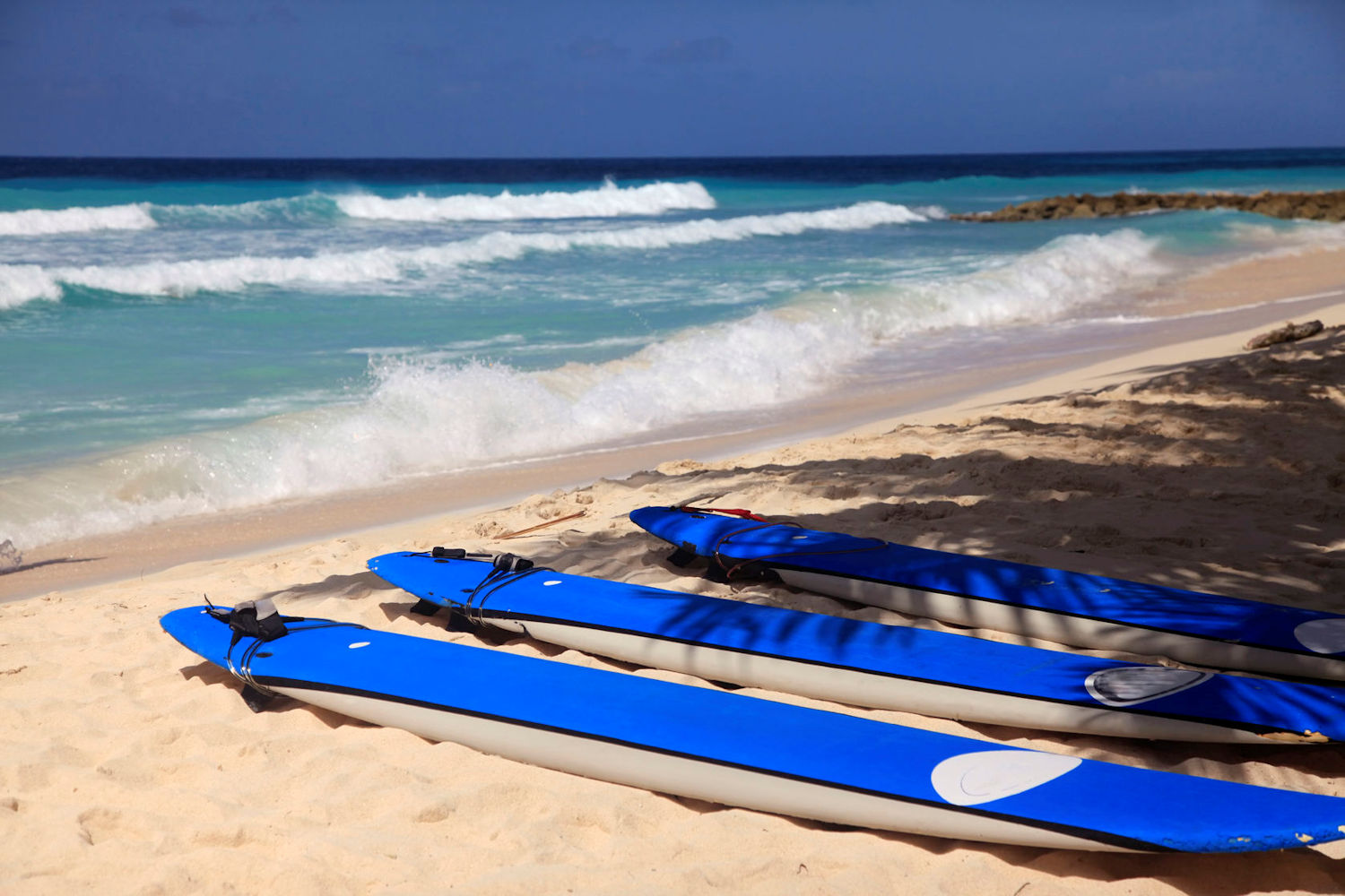 best beaches in barbados, dover beach