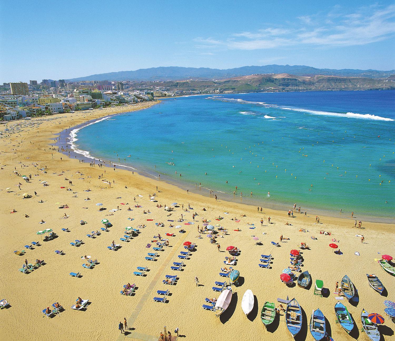 Canteras beach, Las Palmas, Gran Canaria