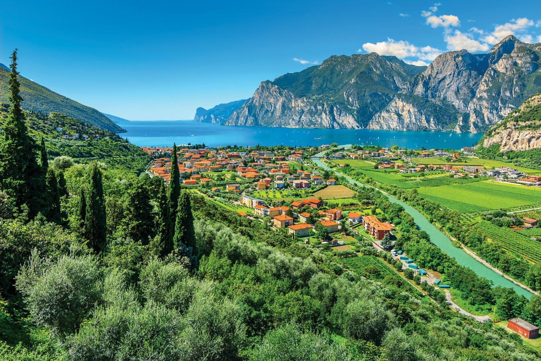 Sarca River, near Torbole, Lake Garda