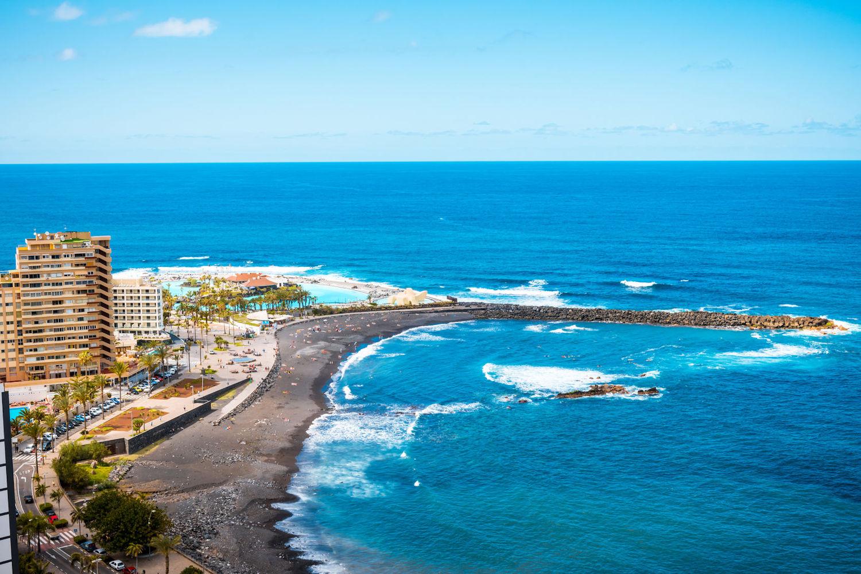 Best beaches in tenerife classic blog - Playa puerto de la cruz tenerife ...