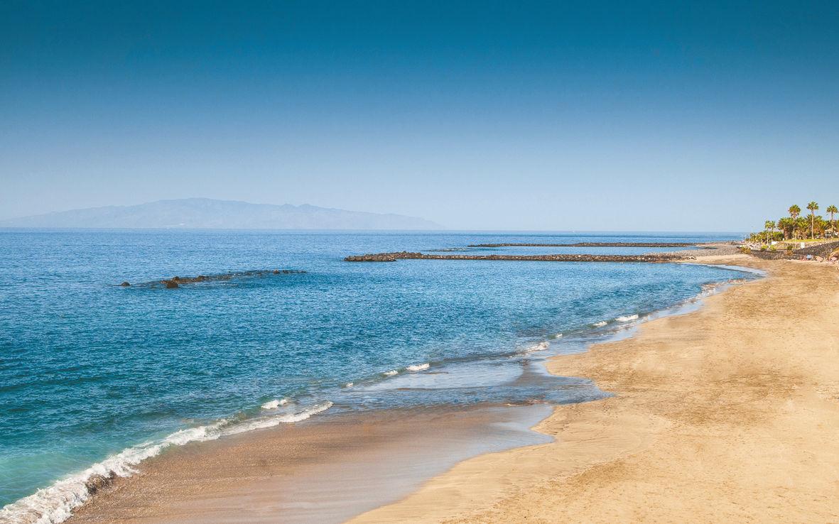 Beach at hotel Sheraton La Caleta